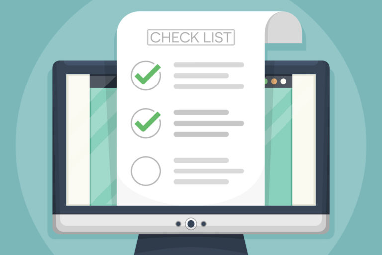 College application checklist